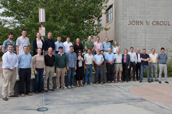 Group photo from 2013 summer science team meeting at UC Irvine